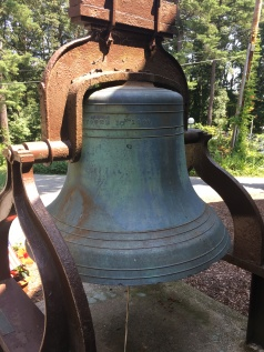 Photo of the bell named 'Moses'